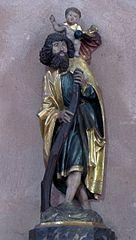 Saint-Christophe portant l'Enfant Jésus