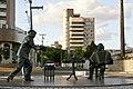 Estátuas de Luiz Gonzaga e Jackson do Pandeiro - Campina Grande, Paraíba, Brasil(2).jpg