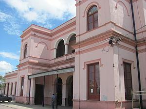 Central Entre Ríos Railway - Concepción del Uruguay station.
