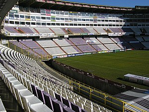 Estadio José Zorrilla - Image: Estadio José Zorrilla desde Preferencia A