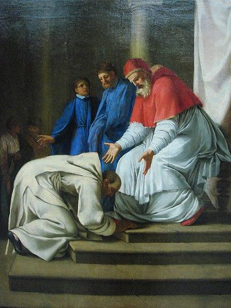 File:Eustache Lesueur - Saint Bruno aux pieds du pape Urbain II.jpg