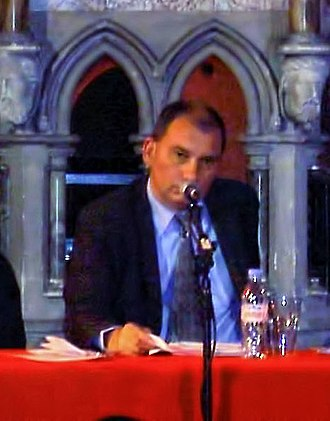 Nick Cohen - Cohen at the public launch of the Euston Manifesto in 2006