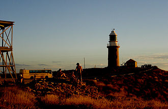 Cape Range National Park - Image: Exmouth caperange lighthouse