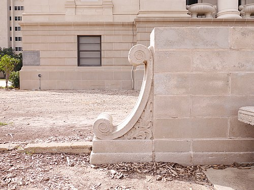 Exterior detail on Texas A&M administration building.jpg