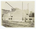 Exterior marble work - construction of the west facade, looking northeast (NYPL b11524053-489433).tiff