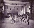 Fäktning Gymnastiska Centralinstitutet Stockholm ca 1920, gih0074.jpg