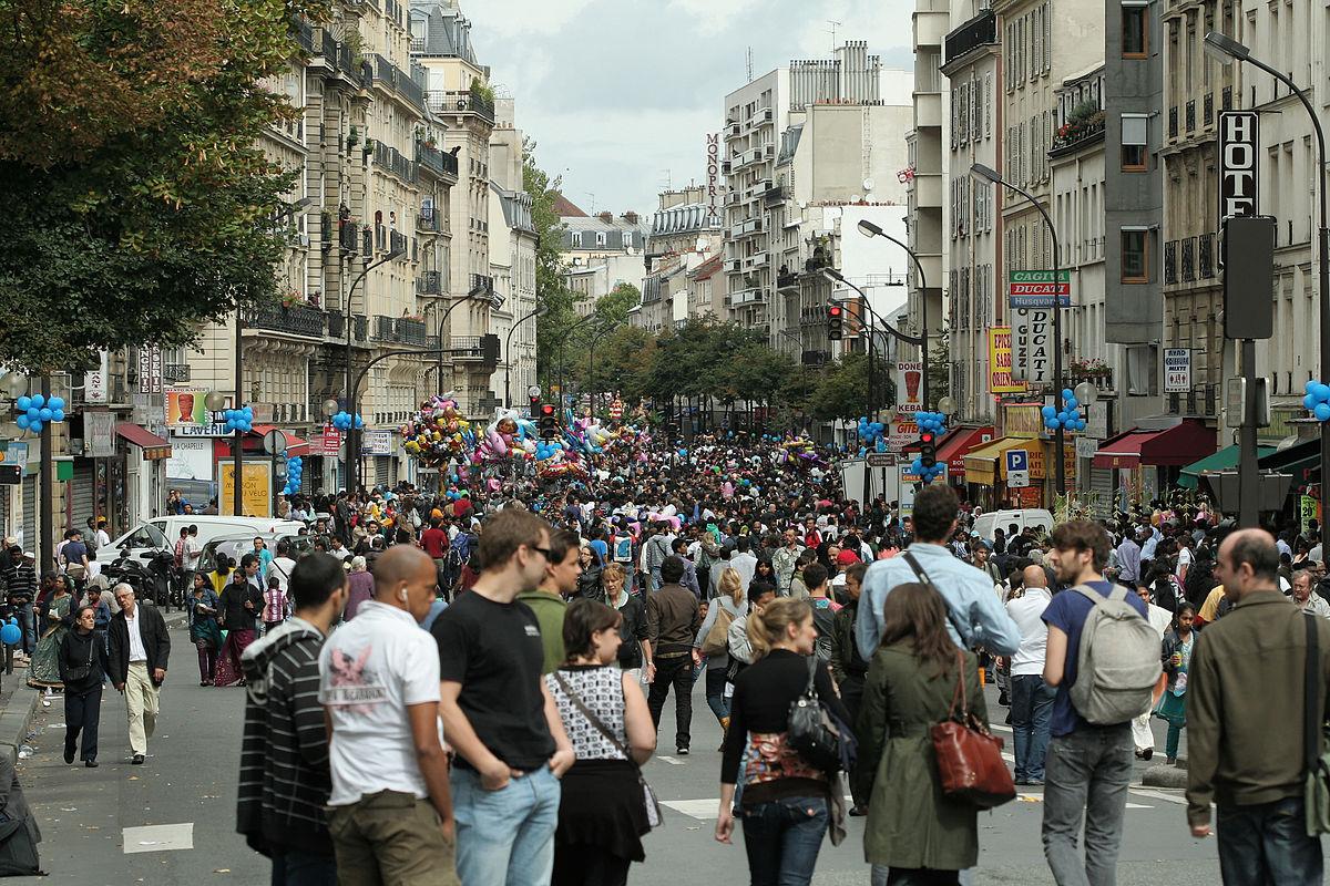 Rue marx dormoy paris wikip dia for Piscine 18eme paris