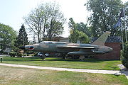 F-105G American Legion Post Blissfield