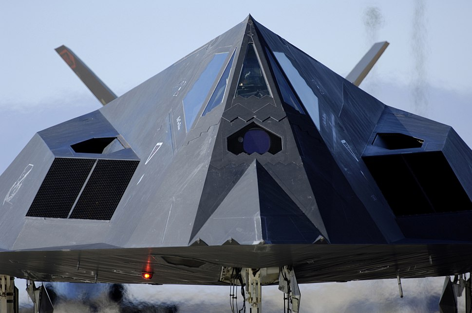 F-117 Front View