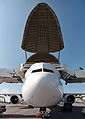 F-GSTC Airbus A300B4-608ST Super Transporter Beluga 3 ILA 2012 front.jpg