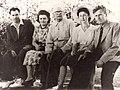F.V. Sychkov, V.D. Khrymov, N.P. Petrovicheva. Saransk, 1956.jpg