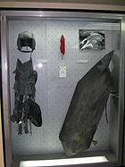 F16 equipment and F117 fragments