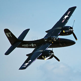 Grumman F7F Tigercat 1943 fighter aircraft family by Grumman; first twin-engine fighter deployed by the US Navy