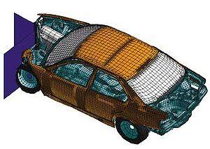 Car Collision Simulation