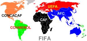 FIFA Kontinentalverbände