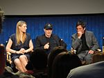 File:FRINGE On Stage @ the Paley Center - Anna Torv, Akiva Goldsman, J H Wyman (5741152585).jpg