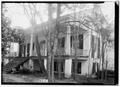 FRONT VIEW. - NORTHWEST - Governor Samuel Pickens House, State Route 14, Sawyerville, Hale County, AL HABS ALA,33-SAWV.V,1-2.tif