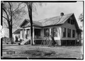 FRONT VIEW (south) - H. B. Brewer House, County Road 4, Forkland, Greene County, AL HABS ALA,32-FORK,7-2.tif