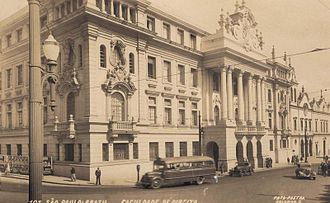 Sé (district of São Paulo) - Historical Law School building (1950), located in downtown São Paulo.