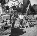 Fantje gredo s košnje domov, Pomjan 1950.jpg