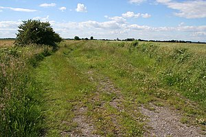 Mablethorpe - Image: Farm track off Will Row geograph.org.uk 481786