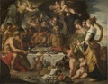 Feast of the Gods in a Cave near the Sea Shore (Gerard Seghers) - Nationalmuseum - 17466.tif