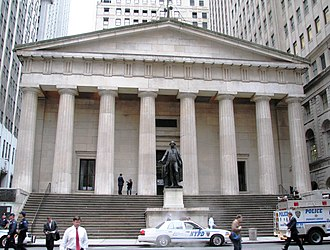 Federal Hall - Federal Hall National Memorial in 2006