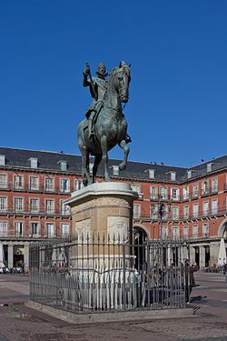 Felipe III - Plaza Mayor de Madrid - 02.jpg