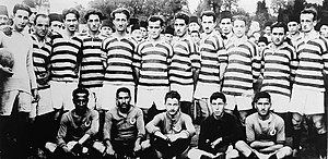 Hilal S.K. - Hilal SK squad (sitting) 1922-23 season, before the match against Fenerbahçe SK