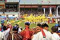 Festiwal Naadam na stadionie narodowym w Ułan Bator 24.JPG