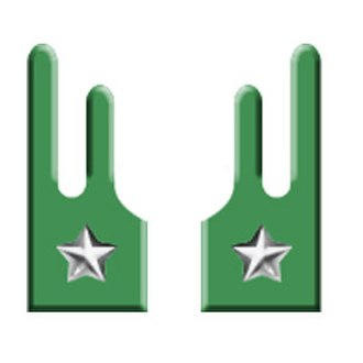 Alpini - A pair of Fiamme Verdi collar patches