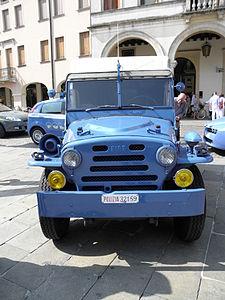 Fiat AR 55 Campagnola Fotoelettrica, vista frontale, Rovigo 2011.JPG
