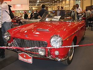 Fiat Pininfarina Cabriolet - Image: Fiat OSCA 1600 Cabriolet (7872665900)