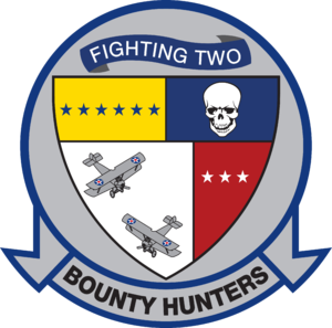 Carrier Air Wing Two - Image: Fighter Squadron 2 (US Navy) insignia 1973