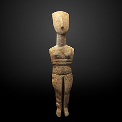 Figurine of a woman-Ma 2707