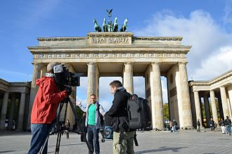 The Travel Bug - On location filming series three of The Travel Bug in Berlin