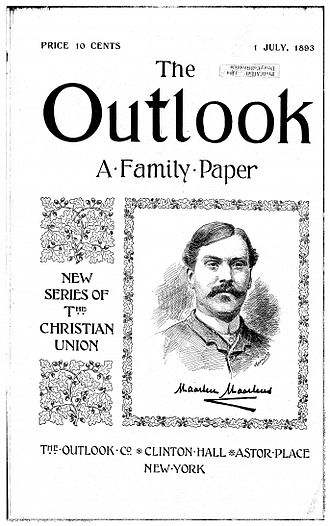 Up from Slavery - First Cover of The Outlook newspaper