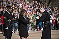 First Lady of New Zealand lays a wreath at the Tomb of the Unknown Soldier in Arlington National Cemetery (26110834936).jpg