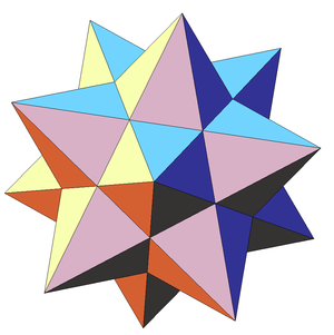 Stellation - Image: First stellation of dodecahedron