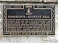 Fishertown-Seamans Hall - plaque detail - geograph.org.uk - 901435.jpg