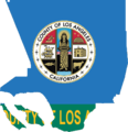 Flag map of Los Angeles County, California (2014-2016).png