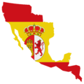 Flag map of Viceroyality of New Spain (1519-1821).png
