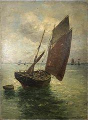 Bateau de pêche de Dieppe.