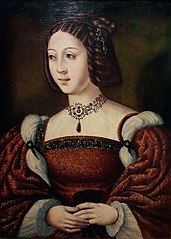 Portrait of Isabella of Portugal (1503-1539).