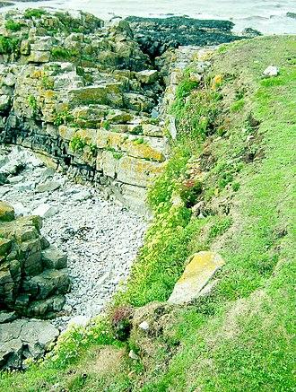 Flat Holm - Flat Holm geology