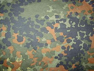 Flecktarn - Flecktarn camouflage fabric