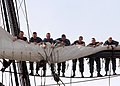 Flickr - Official U.S. Navy Imagery - Sailors furl the topsail..jpg