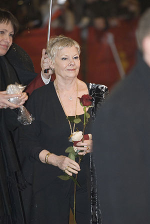 Dame Judi Dench, arrival for the premiere of &...