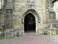 Floral display on Lindfield church porch - geograph.org.uk - 1347518.jpg