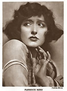 Florence Reed American stage and film actress